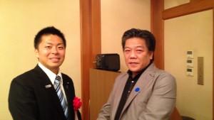 伊藤先生と代表